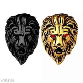 Lion gold ring new