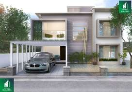 3bhk Villa with club house and parking