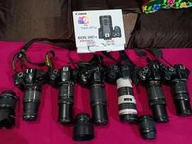 ਕਿਰਾਏ ਲਈ ਕੈਮਰਾ 600 Rent on DSLR Camera