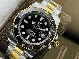 Jual Promo Rolex Submariner Black Gold  two tone