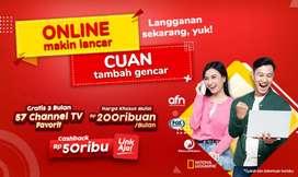 IndiHome Bandung internet wifi hp unlimited tv kabel Langsung Aktif
