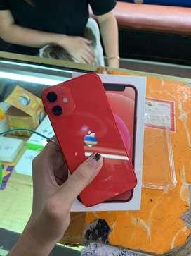 SECOND EX IBOX IPHONE 12 MINI 64GB RED MASIH GARANSI PANJANG