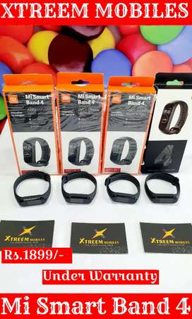 Mi Smart Band 4..Fresh Condition Not Used..Under Warranty..
