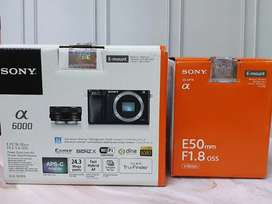 Dijual Sony A6000 like new