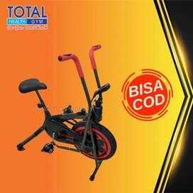 sepeda statis platinum bike total COD Cilacap