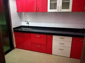 1bhk semi furnished in prastige residency, Ghodbunder road, Thane