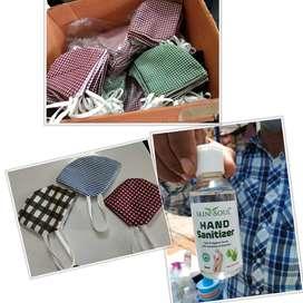 Pure cotton cloth masks
