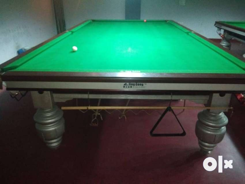 Steelcushions snooker table Italian new condition imported 0
