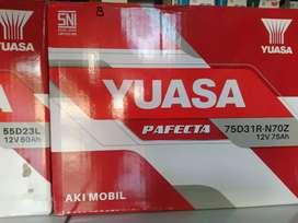 Aki mobil Yuasa N70Z 75Ah L300