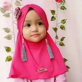 Hijab bayi dan anak batita jogja jilbab gardenia