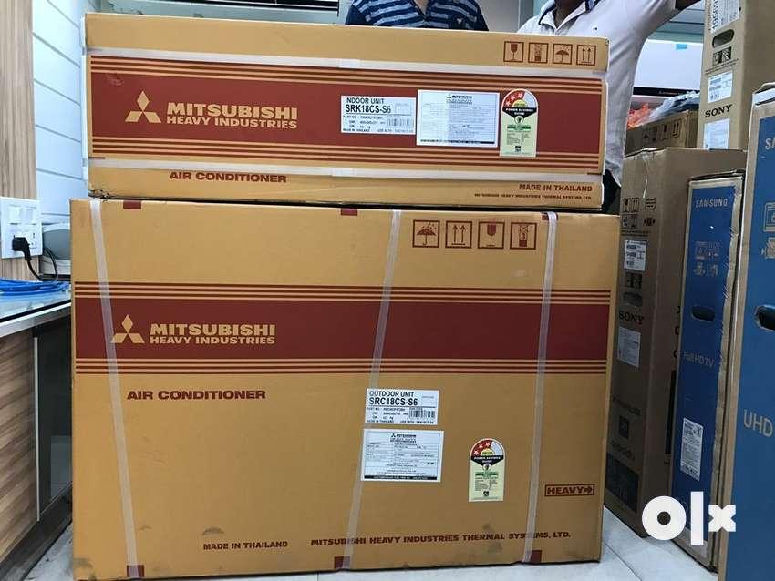 New Mitsubishi Heavy 1.5 3 star Split AC 0