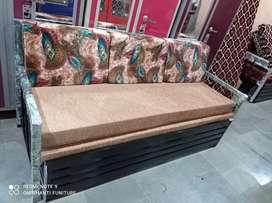 New metal 2 fold sofacumbed directly sale in factory price