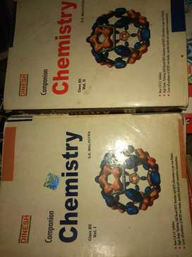 Chemistry by Dinesh for class 12th
