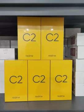 Realme C2 3/32gb garansi resmi (bisa cash dan kredit)