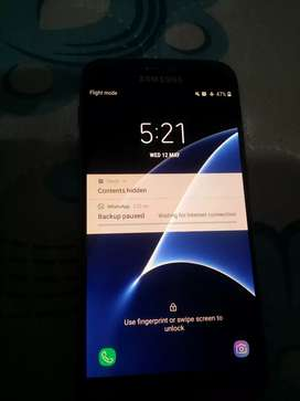 Galaxy s7 4gb 32gb black color 1.5 day battery time