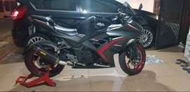 Kawasaki Ninja 250 ABS SE 2016 (Super premium condition) rare items !!