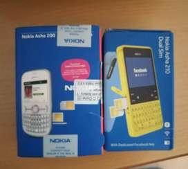 Nokia Asha 200 & 210