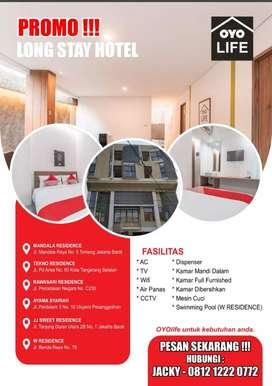 Kosan fasilitas hotel
