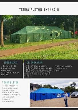 Tenda Pleton Bantuan Pengunsi Kapasitas 40 Orang