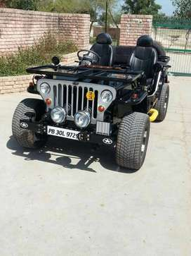 Excellent jeep profile brand new modified jeep
