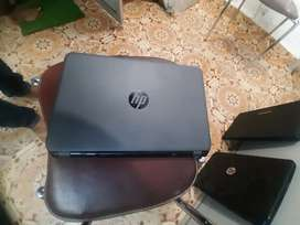 Hp new laptops with 1 year warranty 4gb 500gb i3 , 14 inch screen