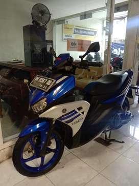 Jual yamaha aerox 125cc 2016 warna biru