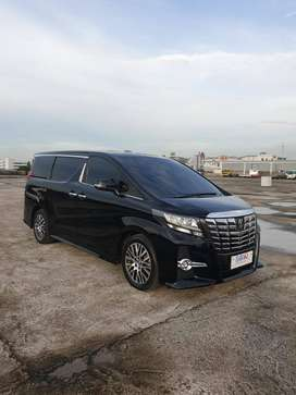 TOYOTA ALPHARD 2.4G AT 2017 kredit 810jt
