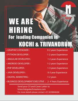 IT Jobs for Freshers and Experienced