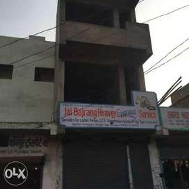 Ground  + 2 constructed commercial shop for sale in transport nagar ,
