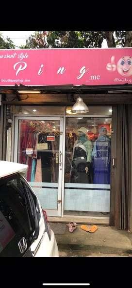Alih usaha boutique cewek muslim