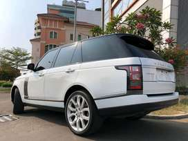 Ranga Rover Vogue 2014 HSE Bensin White Panoramic 5Camera Km17rb Antik