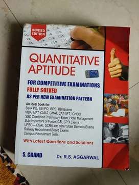 Quantitative aptitude for banking other competive exams