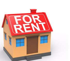 Flat for rent with roof