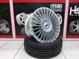 Velg Mobil Xpander Rush HSR  AMARASI JD7020 HSR R17X7 H10X100-114,3 ET