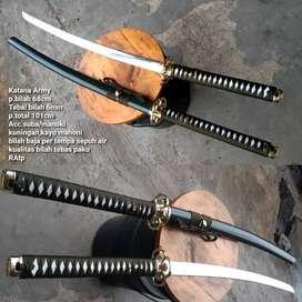 Samurai katana Army