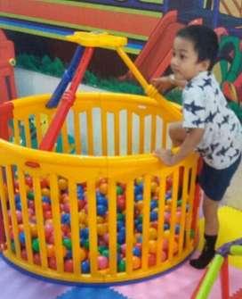 Pagar Mandi Bola L'Baille Lingkaran ex playground