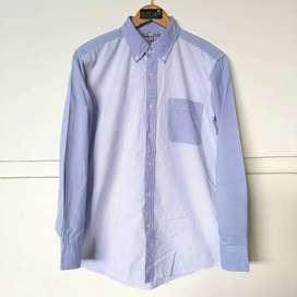 Uniqlo Stripe Button Down Long Shirts Original