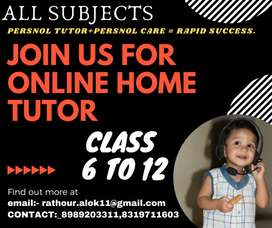 India's first online home tutors