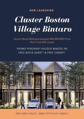 Rumah Murah 2Lt At BSD Start From 600Jtan Boston Village Bintaro
