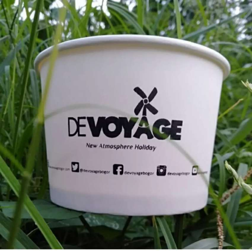 CETAK LOGO++PAPER BOWL 650ML 0
