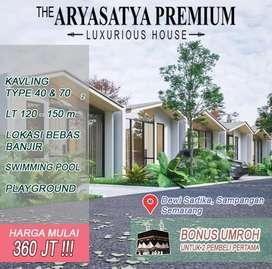The Aryasatya Premium, hunian cluster terbaik di Sampangan.