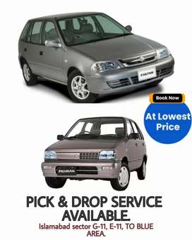 PICK AND DROP SERVICES AVAILABLE