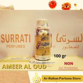 Bibit Parfum Gaharu Ameer Al Oud Surrati 100 gram