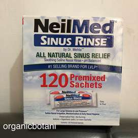 Neilmed Sinus Rinse by Dr Mehta 120 Premixed Sachets.