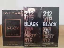 Parfum 212 black  baru ada segel