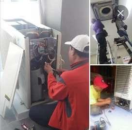 Sapar jaya teknik service panggil Ac, Kulkas,dan Mesin cuci Bergaransi
