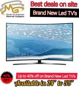 """32 inch smart LED TV """"""""Sunday funday blockbuster offer"""""""" abhi kharidee"""