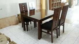 Meja makan jati furniture jpr838