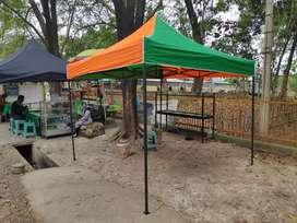 Tenda Lipat Merk LQ / Small Frame / Stell Frame