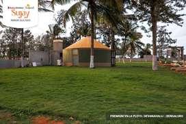 Premium gated community villa plots